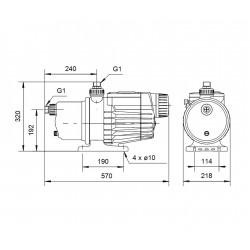 DRAINBACK VAILLANT AUROSTEP PLUS 1.150 MTD(CUB.INCLIN)