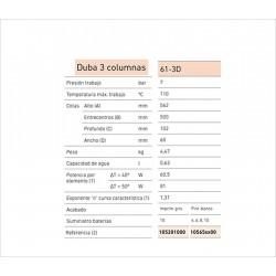 ARM. REGULACION A-6 CAUDAL 6m3/h SALIDA 20mbar PE20