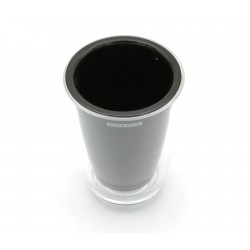 COSMIC DROP VASO GLASS NEGRO