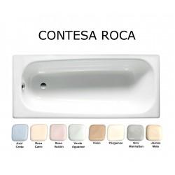 ROCA CONTESA BAÑERA ACERO