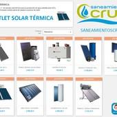 Sistemas de Energía Solar Térmica -  Últimas unidades en nuestra sección OUTLET  https://saneamientoscruz.es/41-solar-termica