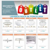 OUTLET de lavabos ROCA - https://buff.ly/35jDdbA