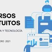 25 CURSOS GRATUITOS DE TECNOLOGÍA PARA EMPEZAR EN FEBRERO - https://buff.ly/3j6Pvt4