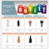 OUTLET dispensadores de jabón-HIDROGEL : https://buff.ly/2FHNDHh